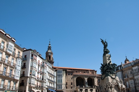 Virgen Blanca square, Vitoria-Gasteiz  Spain