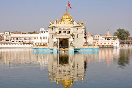sikhism: Durgiana Mandir - Amritsar, Punjab  India   Stock Photo