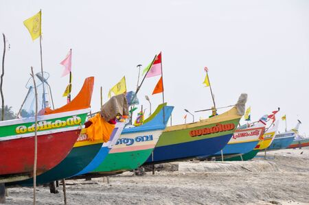 Boats at kerala, India