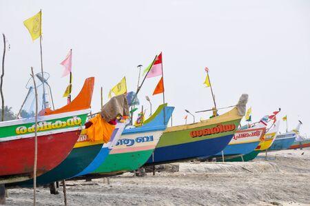 Boats at kerala, India