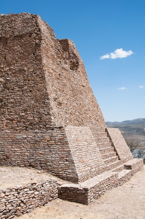Votiva pyramic, Archaeological site of La Quemada  Mexico  Stock Photo - 13116325