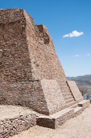 Votiva pyramic, Archaeological site of La Quemada  Mexico Stock Photo - 13116325