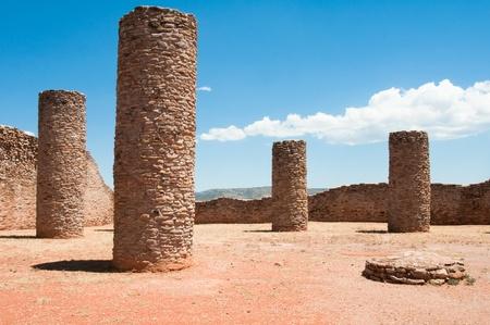 mesoamerica: Hall of Columns, La Quemada, Zacatecas  Mexico