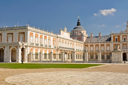 The Royal Palace of Aranjuez  Madrid  Spain