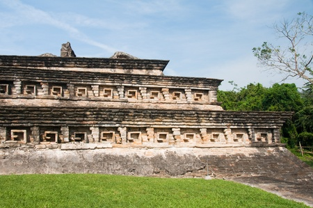 pre columbian: Archaeological site of El Tajin, Veracruz  Mexico   Stock Photo