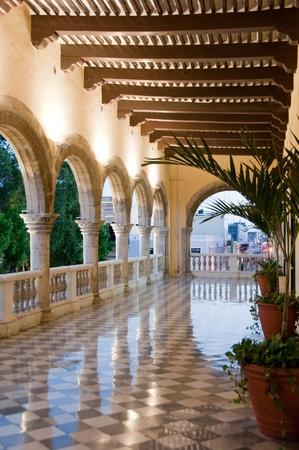 City Hall of Merica, Yucatan  Mexico