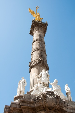 mexico culture: The Angel of Independence, Mexico City