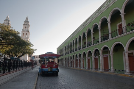 Campeche s main square  Mexico