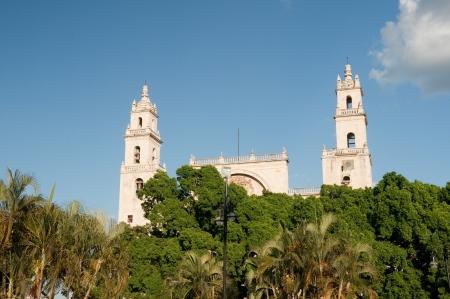 merida: Main Square of Merida  Mexico