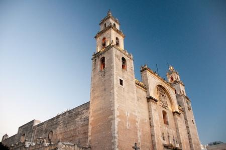 merida: Merida cathedral, Yucatan  Mexico