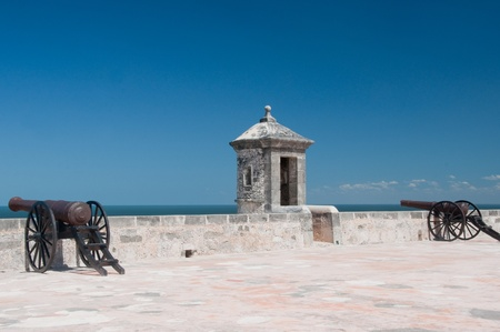 San Miguel Fort, Campeche  Mexico Stock Photo - 13550188