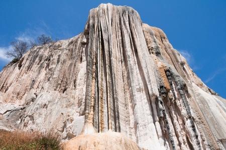 Hierve el Agua, Petrified Waterfall in Oaxaca  Mexico