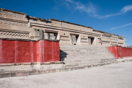 Archaeological site of Mitla, Oaxaca  Mexico  Stock Photo