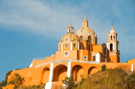 Santuario de los remedios, Cholula in Puebla  Mexico