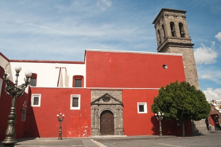 Iglesia de Santo Domingo, Puebla, M�xico photo