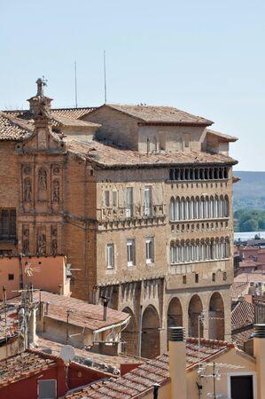 Bishop s Palace at Tarazona  Spain  Stock Photo - 13751405