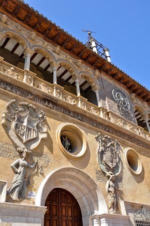 Facade of City Hall of Tarazona  Spain  photo