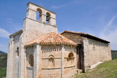San Pantaleon de Losa hermitage, Burgos  Spain Stock Photo - 13975439