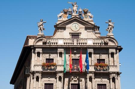 navarre: City Hall of Pamplona, Navarre, Spain
