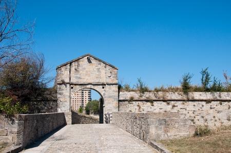 Socorro Gate, Citadel of Pamplona, Spain photo