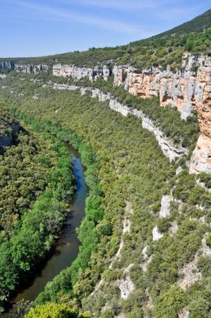 ebro: Canyon del fiume Ebro, Burgos Spagna