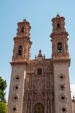 Santa Prisca parish in Taxco de Alarcon, Guerrero  Mexico  photo