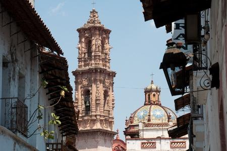 Santa Prisca parish in Taxco de Alarcon, Guerrero  Mexico  photo