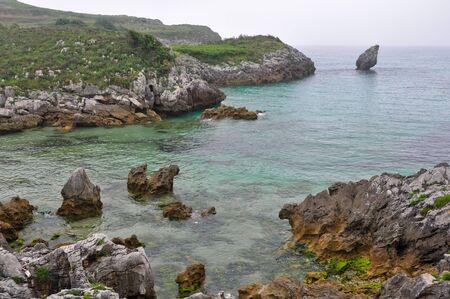 asturias: Beach in Buelna, Asturias, Spain
