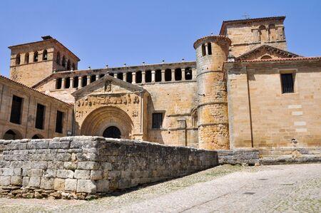 collegiate: Collegiate church in Santillana del Mar  Spain