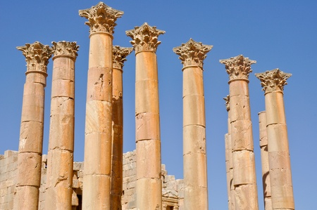 Temple of Zeus, Jerash  Jordan  Stock Photo - 14593298
