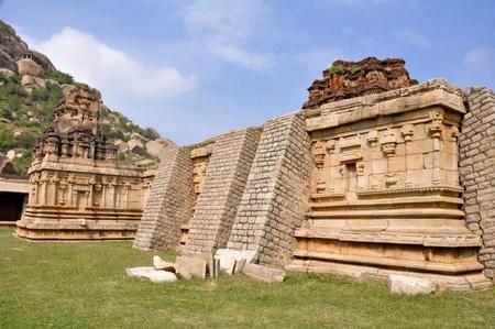 Achyuta Rayas temple, Hampi  India  photo