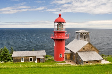 Pointe a la Renommee lighthouse, Quebec  Canada