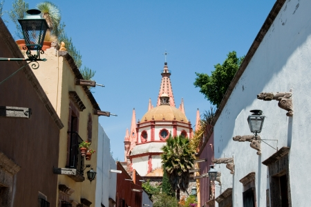 san rafael: San Rafael Church, San Miguel De Allende  Mexico