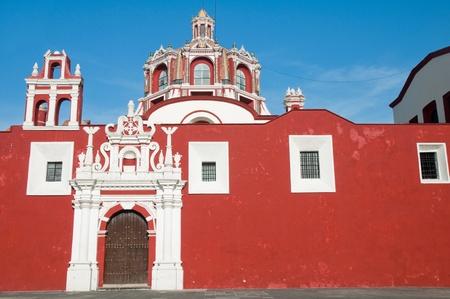 santo: Santo Domingo church, Puebla, Mexico
