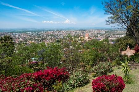 san miguel arcangel: Vista panorámica de San Miguel de Allende México