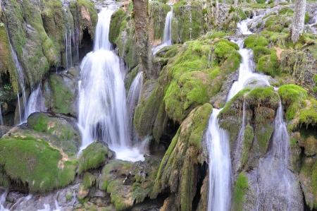 cascade range: Toberia waterfall, Basque Country, Spain