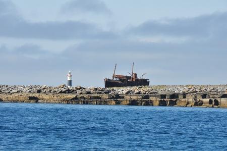 Coastline of Inisheer, Aran islands  Ireland  Stock Photo