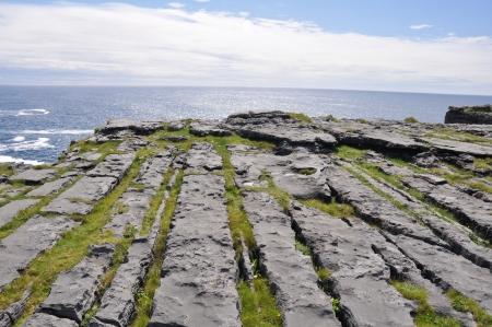 ocean floor: Dun Aengus, Inishmore, Aran islands, Ireland