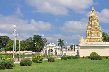 Trinesvara Swami Temple at Mysore palace  India Stock Photo - 15867459