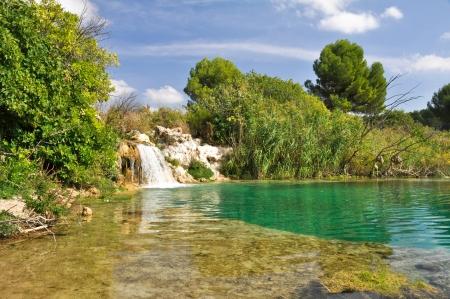 Ruidera Natural Park, Castilla La Mancha  Spain Imagens - 15833693