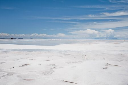 Salar de Uyuni, Salt flat in Bolivia Stock Photo - 16401093