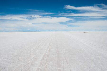 Salar de Uyuni, Salt flat in Bolivia photo