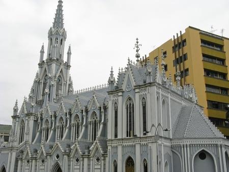 la: La Ermita Kirche, Cali, Kolumbien Lizenzfreie Bilder