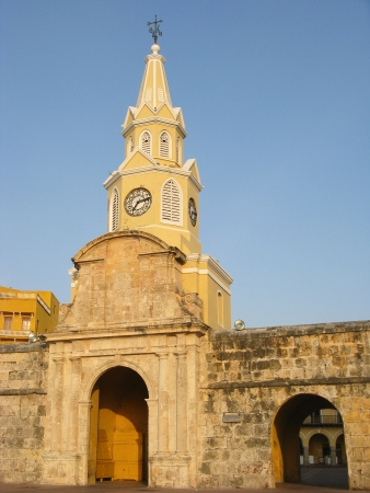 Clock Tower, Cartagena De Indias  Colombia  photo