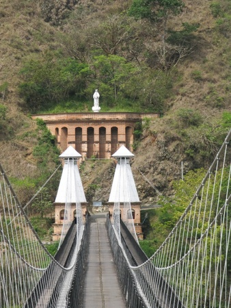 fe: Western Bridge, Santa Fe de Antioquia  Colombia