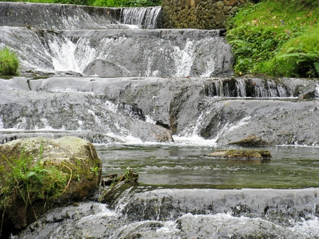 Waterfalls at Santa Rosa de Cabal, Colombia Stock Photo - 16820777
