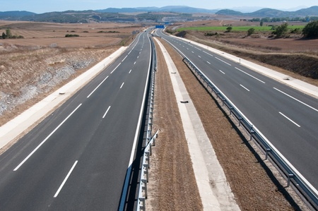 basque country: Highway, Basque Country, Spain