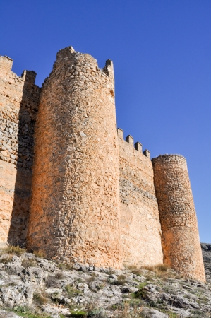 Castle of Berlanga de Duero, Soria, Castile and Leon,  Spain  Stock Photo - 16782031