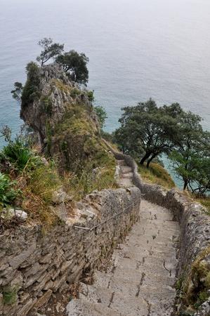 cantabria: Path to El Caballo lighthouse, Cantabria, Spain