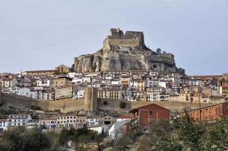 Walled town of Morella, Castellon, Spain Stock Photo - 16969409